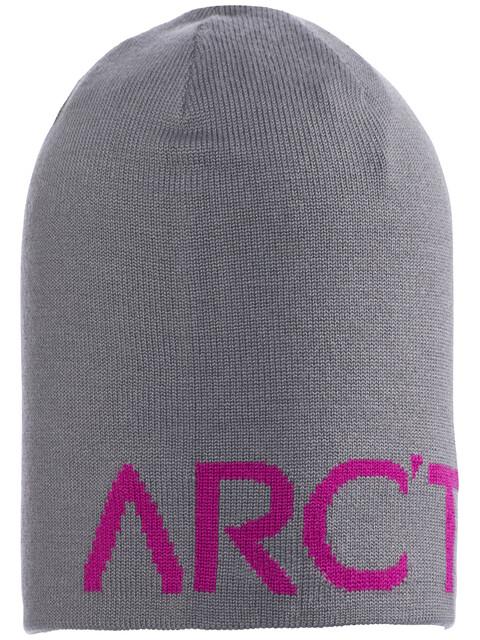 Arc'teryx Word Head Long Toque Brushed Nickel/Holi Pink